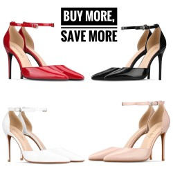 Enny 4 Colours 3 Heel Heights Buy More Save More