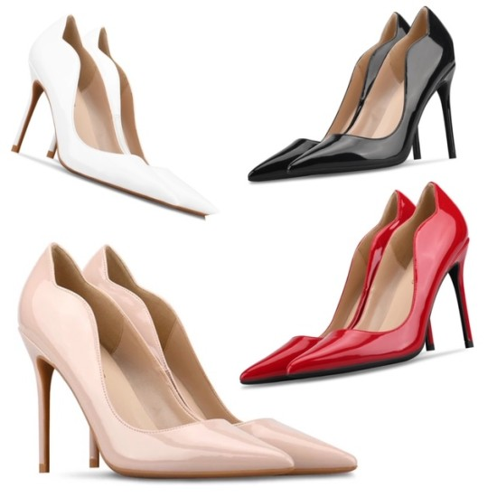 Ave 4 Colour 3 Heel Heights