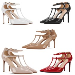 Daga 3 Heel Heights 5 Colours