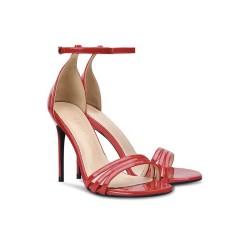 Anushka Red 2 Heel Heights