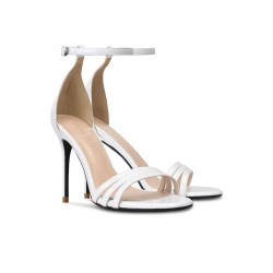 Anushka White 2 Heel Heights