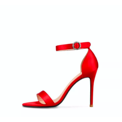 Bowla Red 2 Heel Heights