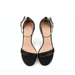 Bowla Black 2 Heel Heights