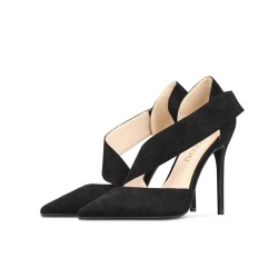 Deelia Black 3 Heels Heights