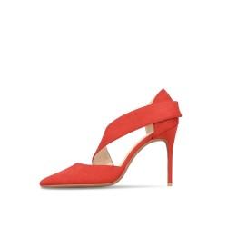 Deelia Red 3 Heels Heights