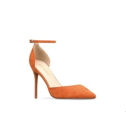 Elly Orange 3 Heel Heights
