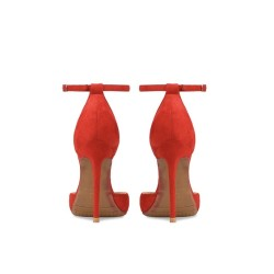 Elly Red 3 Heel Heights