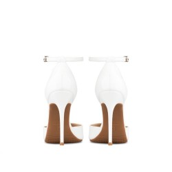 Enny White 3 Heel Heights