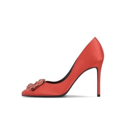Garter Red 3 Heel Heights