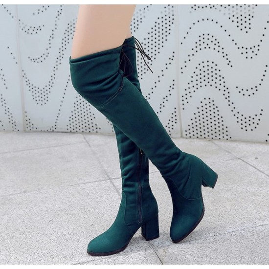 Aleim *3 Colours*  Over Knee Boots M20